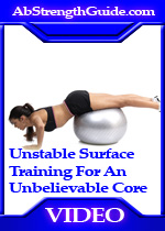 unstable surface training
